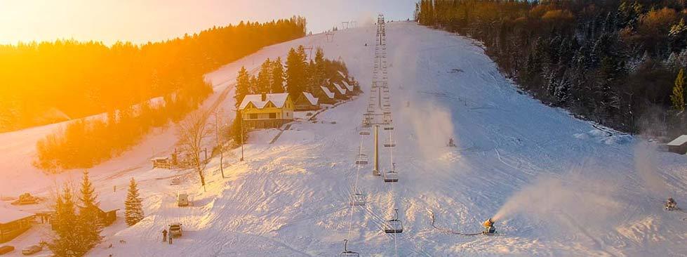 Stoki narciarskie Bieszczady Gromadzyń